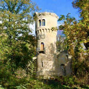 RuheForst Harbke Ruinenturm Turmruine